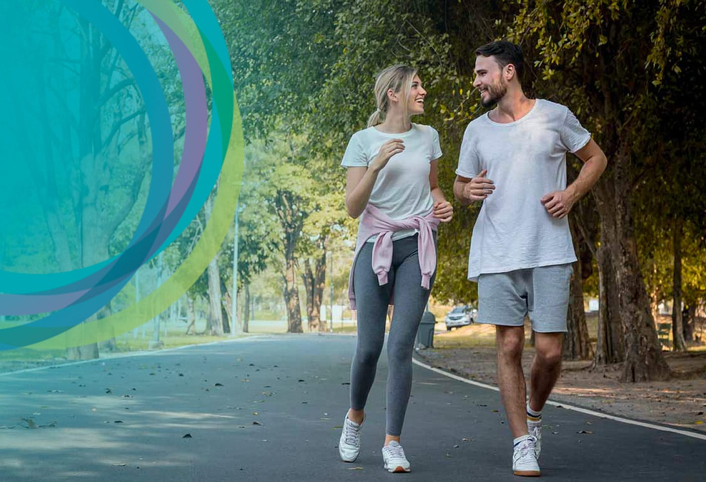 Active Coupon Running in Melbourne Streets